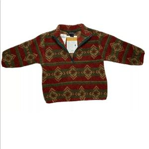 Woolrich Microberber Glenoit Pullover NWT 4T
